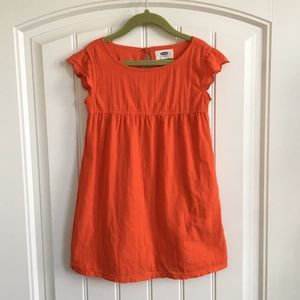 Adorable red cotton dress